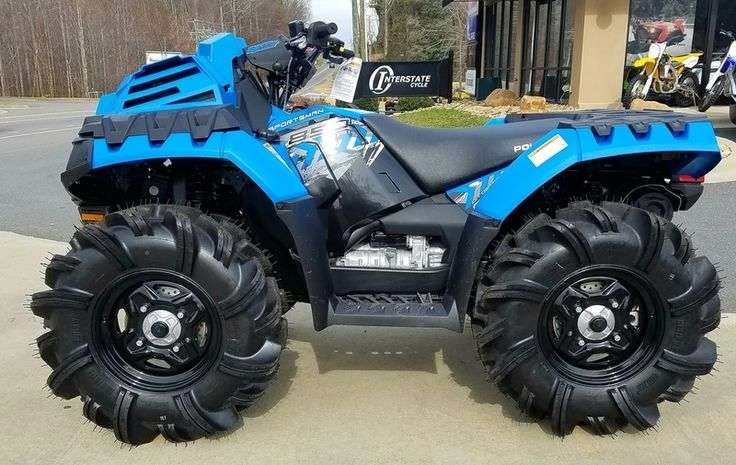 """New 2017 Polaris Sportsman 850 High Lifter Edition Velocity Blue ATVs For Sale in North Carolina. 2017 Polaris Sportsman 850 High Lifter Edition Velocity Blue, 2017 Polaris® Sportsman® 850 High Lifter Edition Velocity Blue <p></p><ul><li>Factory Installed 29.5"""" High Lifter Outlaw 2 Tires</li></ul><ul><li>Shielded Clutch & Engine Intake Ducting</li></ul><ul><li>Rack Mounted Radiator with Industry Exclusive Inverted Dual Fans</li></ul> Features may include: <p></p> PURPOSE BUILT FOR THE MUD…"""