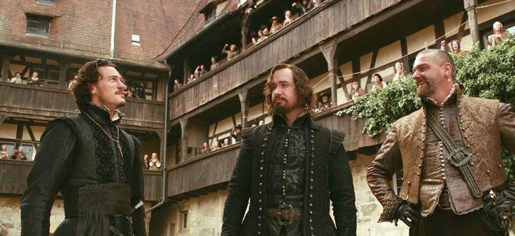 Ray Stevenson, Matthew Macfadyen and Luke Evans in The Three Musketeers (2011)
