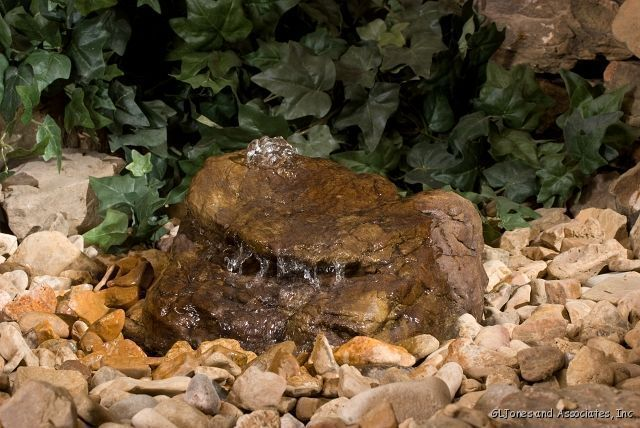 Complete Pondless Boulder Bubbler Fountain Waterfall Kit