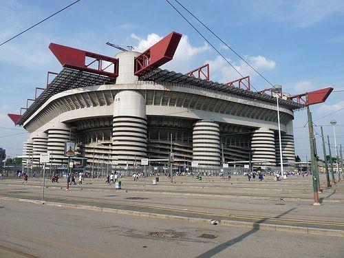 Estadio San Siro. Milán, Italia