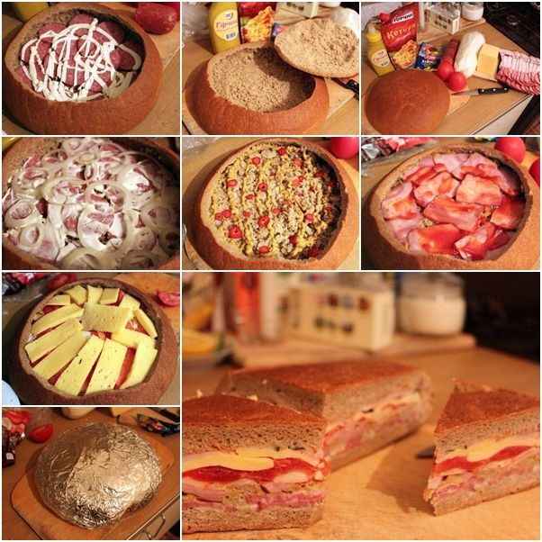 How to DIY Homemade Country French Bread Sandwich