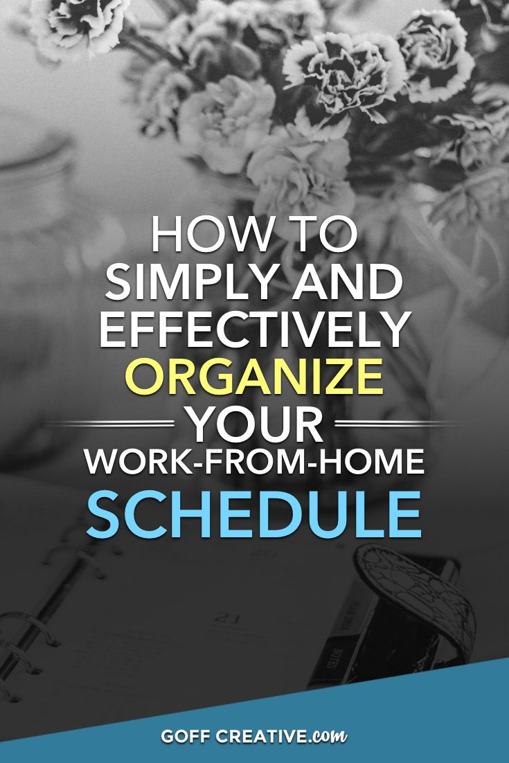 Elegant Work From Home Graphic Design