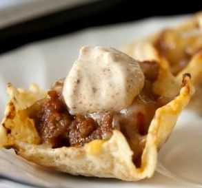 "Taco Scoop Appetizers: ""These were a big hit at my party! I made them exactly as directed and they were gone in a flash.""  -MamaWags"