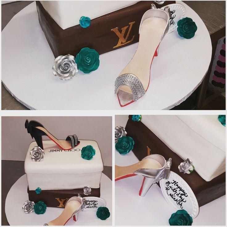 Calumet Bakery Shoe Boxes Cake