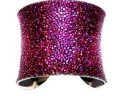 Metallic Magenta Stingray Cuff Bracelet - by UNEARTHED