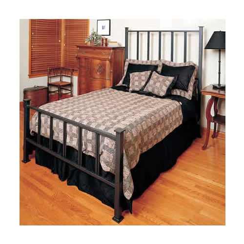 Fernando Wrought Iron Bed | Mission Iron Beds, Rod Iron Bed