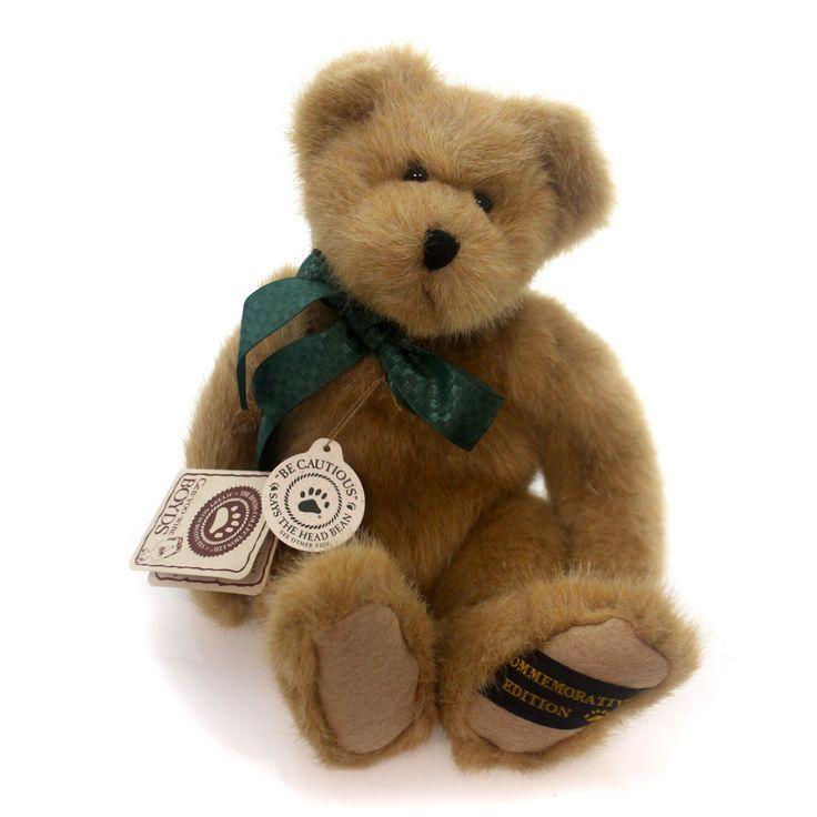 Boyds Bears Plush F E B B (First Ever Bean Bear) Teddy Bear Height: 10 Inches Material: Fabric Type: Teddy Bear Brand: Boyds Bears Plush Item Number: Boyds Bears Plush 51000108 Catalog ID: 5614 New Wi