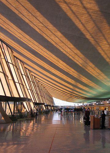 Washington Dulles International Airport (IAD), Sterling, Viriginia. Serving the District of Columbia, USA.