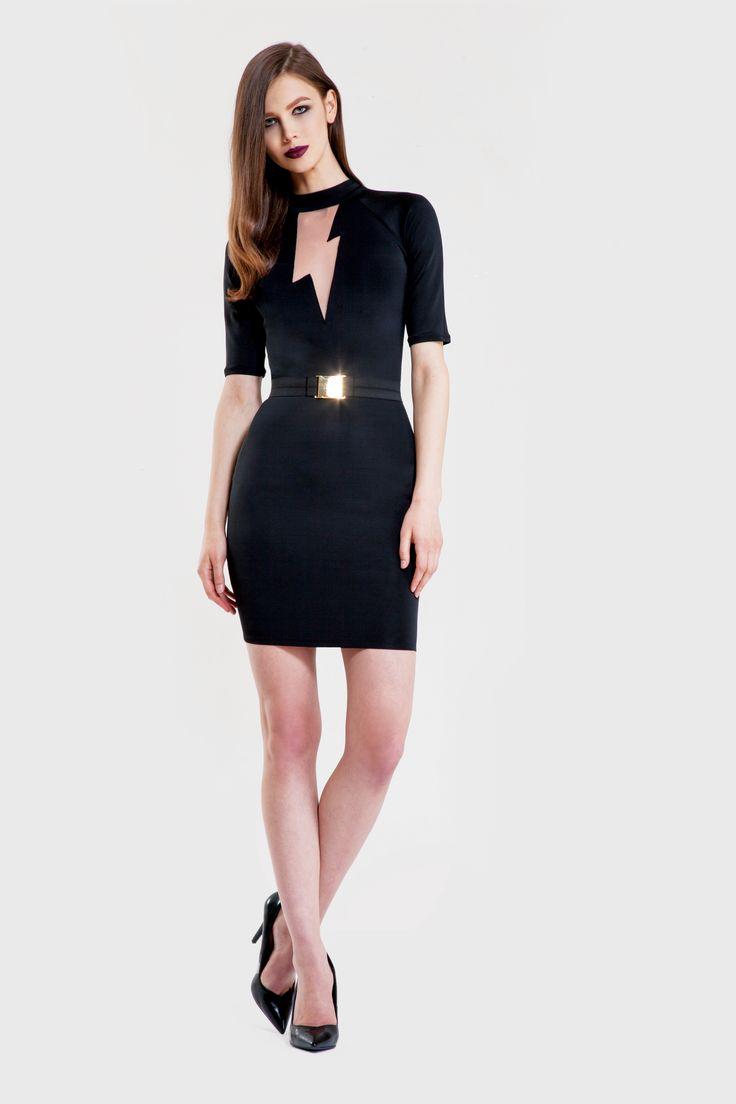 Flash dress/ Tinsel belt www.murmurstore.com