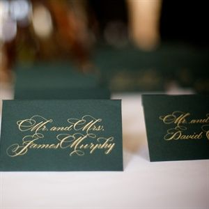 Elegant Escort Cards