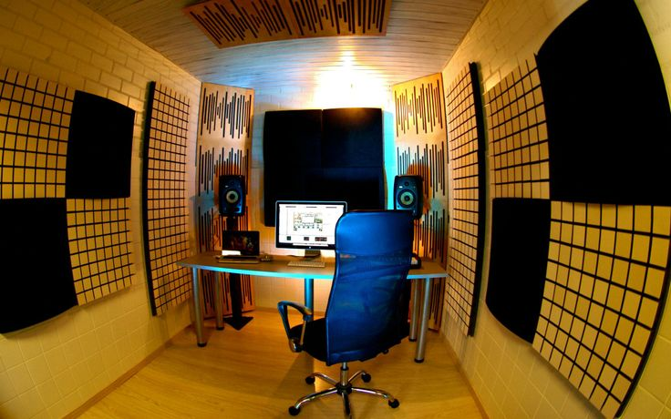 Charmant Vicoustic Treated Home Studio Space