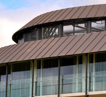Double Lock Standing Seam Roofing