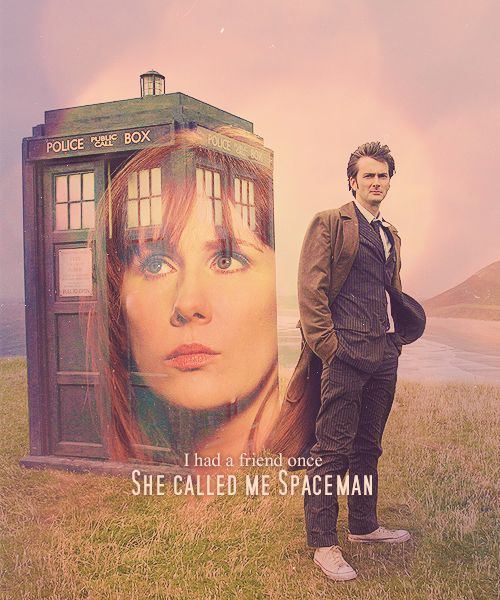 """doctor who ten donna noble: """" I had a friend once ~ She called me Space Man"""" miss Donna..."""