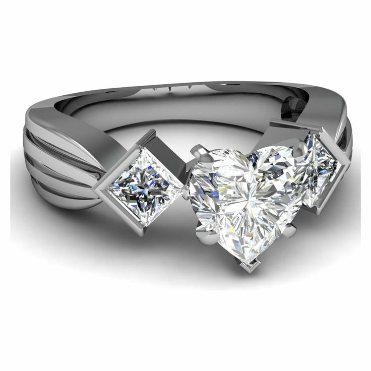 diamond heart engagement rings sale 30 - Wedding Rings On Sale