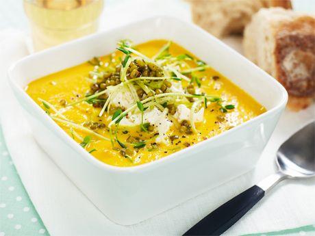 Morots och ingefärssoppa med linser – Allt om Mat