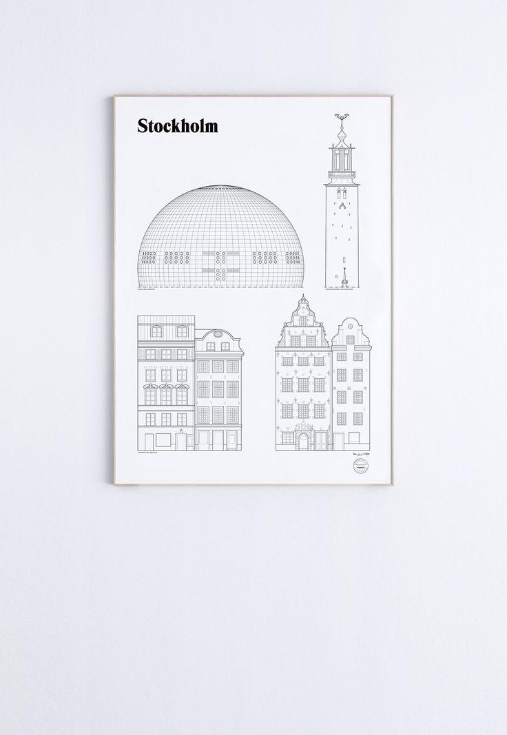Stockholm Landmarks   studio esinam