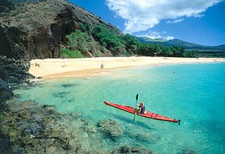 Makena Beach - Maui - the first beach I go to in my mind when I need to get away