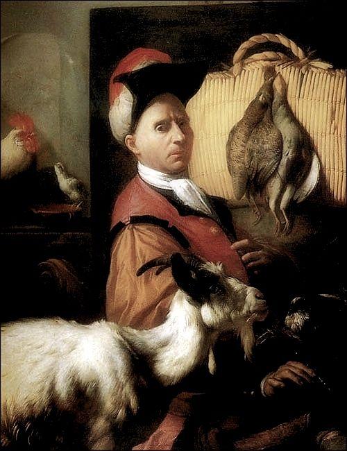 Arcangelo Resani ·  Autoritratto · 1713 · Uffizi · Firenze