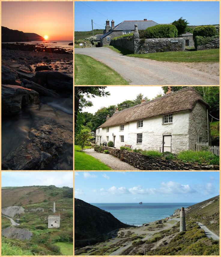 """Trevellas is a village in Cornwall,  situated midway between St Agnes and Perranporth.  It was first recorded as a place in Cornwall in 1302 and was the site of the Trevelles family manor. Trevellas valley was a mining site for centuries and known as the """"Blue Hills"""" coloured by bluish slate. During World War II the nearby Perranporth airport was used as a Royal Air Force base. Painter John Opie was born in Trevellas.  Geography:   There are many scenic cliff path walks around the area…"""