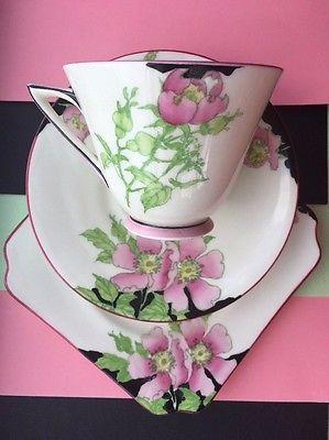 Royal Doulton Rosea tea cup/saucer/plate