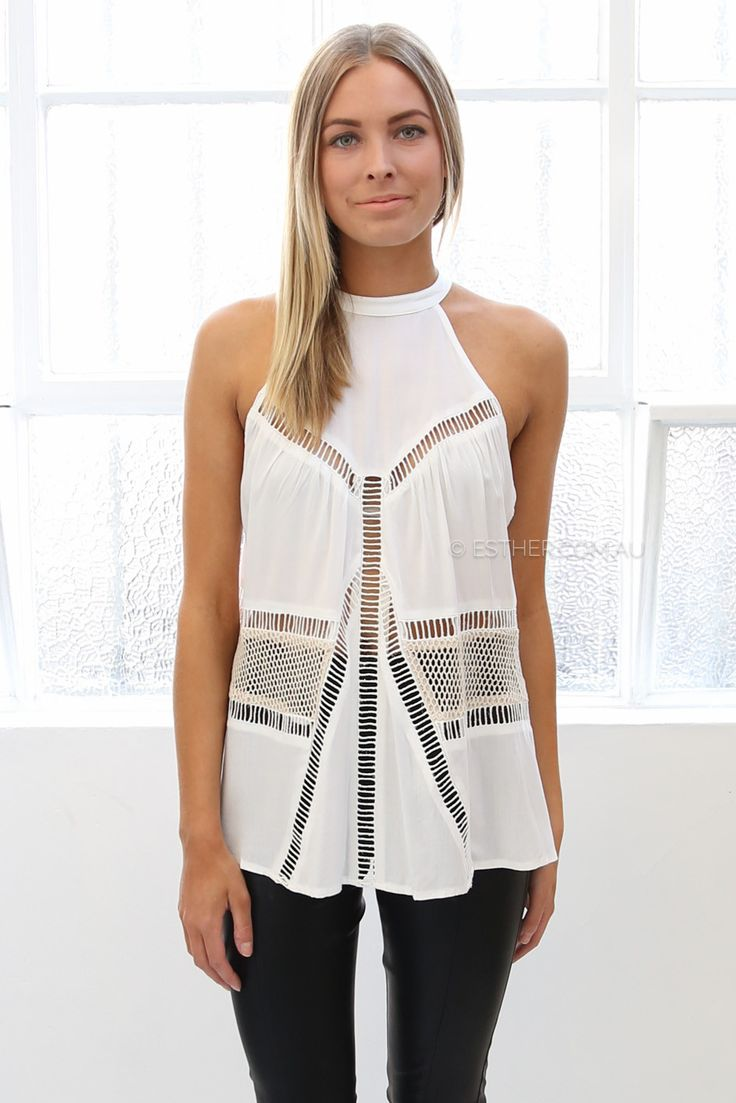 isobel top - ivory | Esther clothing Australia and America USA, boutique online ladies fashion store, shop global womens wear worldwide, designer womenswear, prom dresses, skirts, jackets, leggings, tights, leather shoes, accessories, free shipping world wide. – Esther Boutique