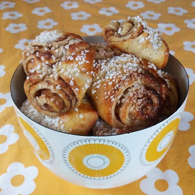 #leivojakoristele #kanelipullahaaste Kiitos @minnakatrielina