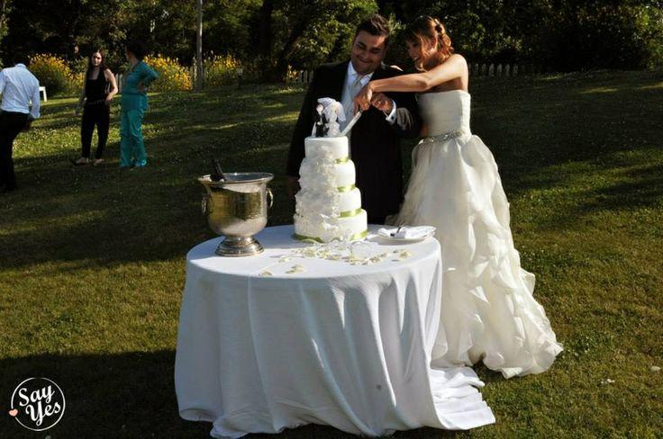 Say yes events wedding planner New York inspiration theme  Wedding cake