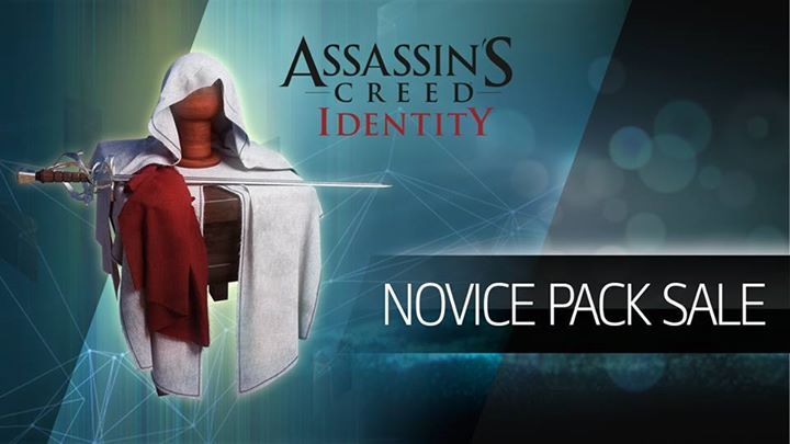 Starting NOW and for a limited time, all Assassins get 50% off Novice Packs. Hurry don't miss it!  Get Assassin's Creed - Identity TODAY on Google Play at http://ubi.li/5dey5 and the App Store at http://ubi.li/5yn7n. #assassinscreed #assassins  #assassin #ac #assassinscreeed2 #assassinscreedbrotherhood #assassinscreedrevelations #assassinscreed3 #assassinscreedblackflag #assassinscreedrogue #assassinscreedunity #assassinscreedsyndicate #altairibnlaahad #ezioauditore #connorkenway…