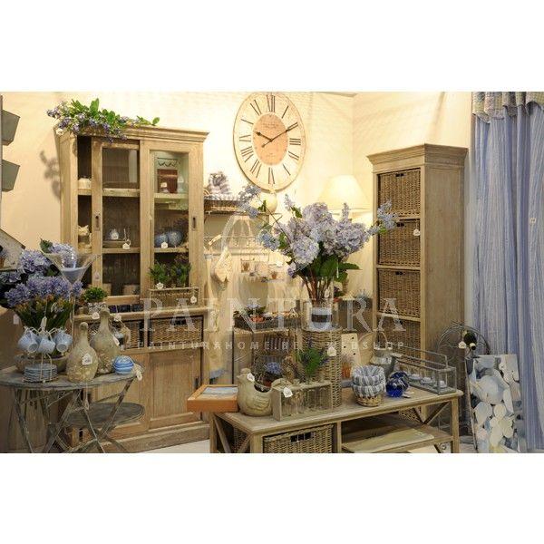 Cottage stijl kast met manden ea meubelen J line online kopen #meubelen #jline #meubels #cottage #leefruimte