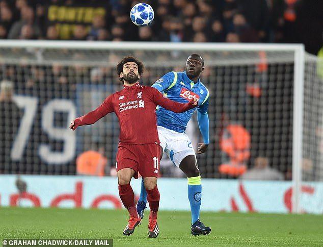 Latest Football News Kalidou Koulibaly Admits Napoli Where Scared Of L Napoli Latest Football News Liverpool