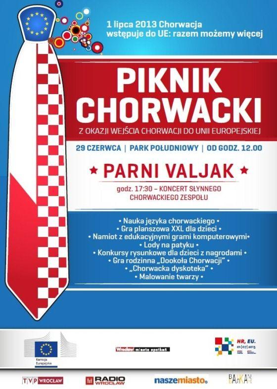 29 czerwca od godz. 12:00 zapraszamy na Piknik Chorwacki w Parku Południowym we Wrocławiu. Na miejscu będzie można poznać podstawy gry w boćanje oraz nauczyć się popularnych zwrotów w języku chorwackim.