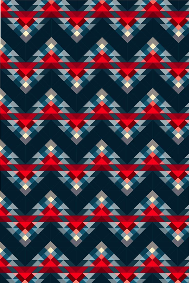 Susanne cleo antonelli, triangles, pattern