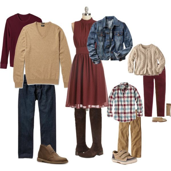 Fall 2014 Family Portrait Outfit Ideas | Lanari Photography | Appleton, WI