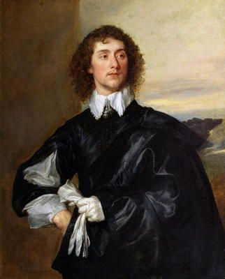 Sir Anthony van Dyck - Sir Thomas Hanmer (1612-78) c.1638 (oil on canvas)