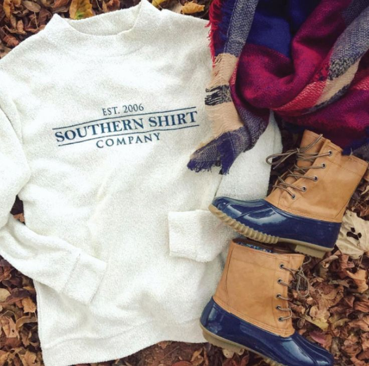 Southern Shirt Loop Knit Terry Pullover | Lakeside Cotton