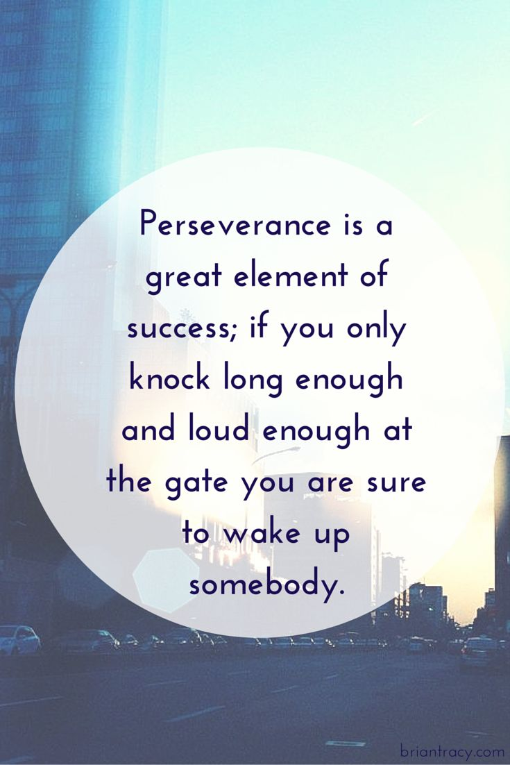 """""""So long as there is breath in me, that long I will persist. For now I know one of the greatest principles on success; if I persist long enough I will win."""" – Og Mandino"""