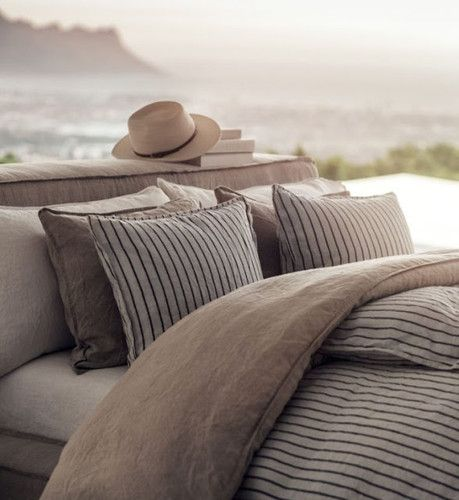 H & M Home - coleção Oasis de Relax em puro linho