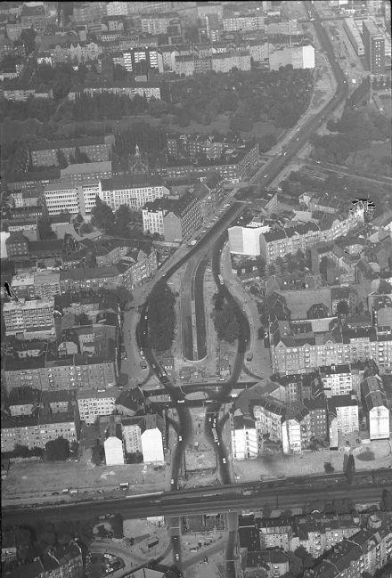 Berlin 1965 Bundesplatz im Umbau