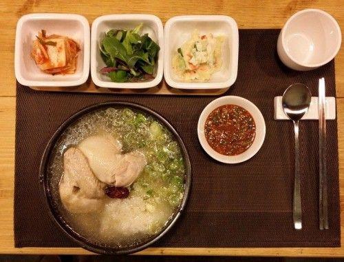 Samgyetang - 12,000 won