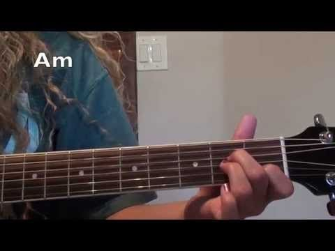 Stitches-Shawn Mendes Guitar Tutorial (easy and advanced) - YouTube
