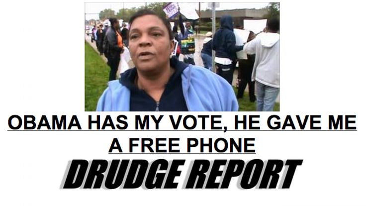 Obama Gave Me a Free Phone, Now He Gave Me Free Internet! | Frontpage Mag