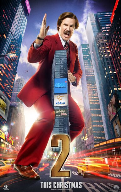 'Anchorman 2′: Ron Burgundy is literally a big deal in new character posters | EW.com