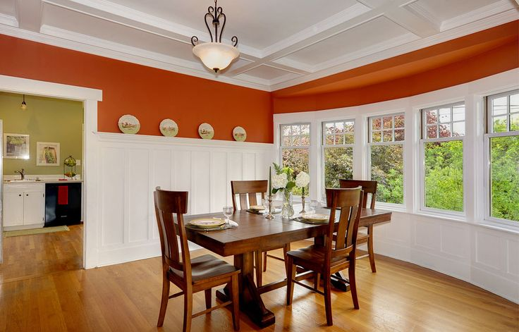 Best 25 dining room paneling ideas on pinterest dinning for Kitchen and dining room color ideas