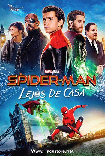 Spider Man Lejos De Casa 2019 Blu Ray Y Dvdrip Audio Latino Subs Spiderman Dvd Movie Nerd