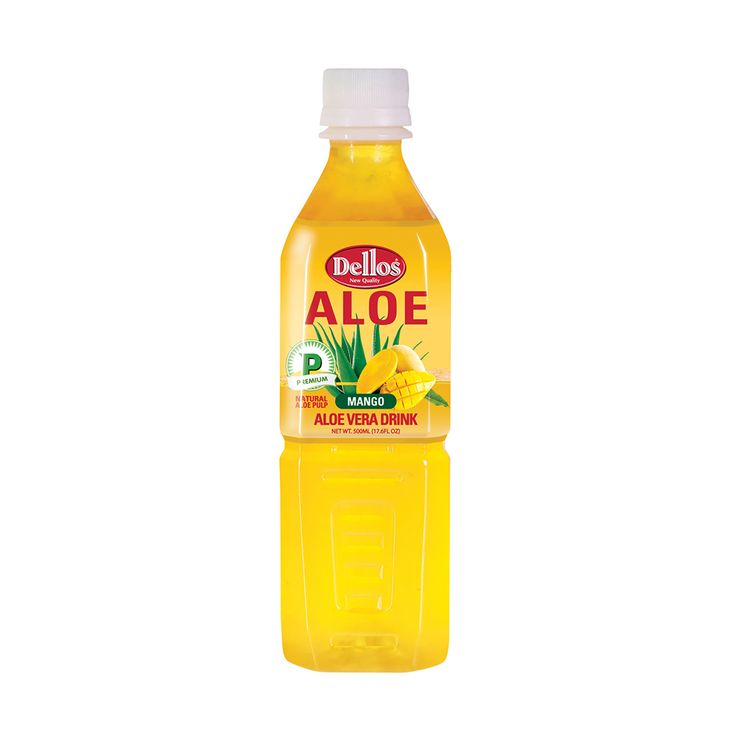 Dellos Aloe Mango Juice 500ml (Pack of 20)