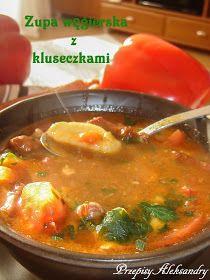 Zupa węgierska jest daniem sytym, rozgrzewającym i idealnym na mroźne dni. Sprawdzony przepis :)