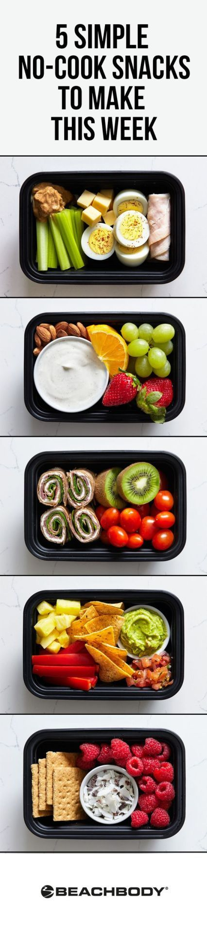 5 Simple No-Cook Snacks to Make this Week