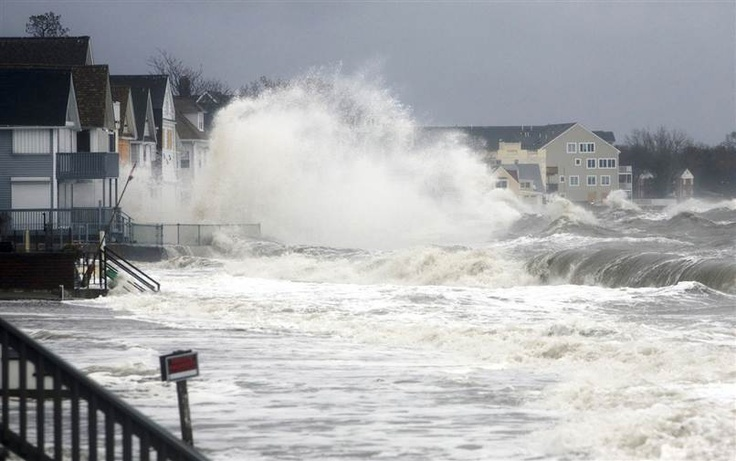 Catastrophic flooding as Sandy plows into coast - Weather   NBC News