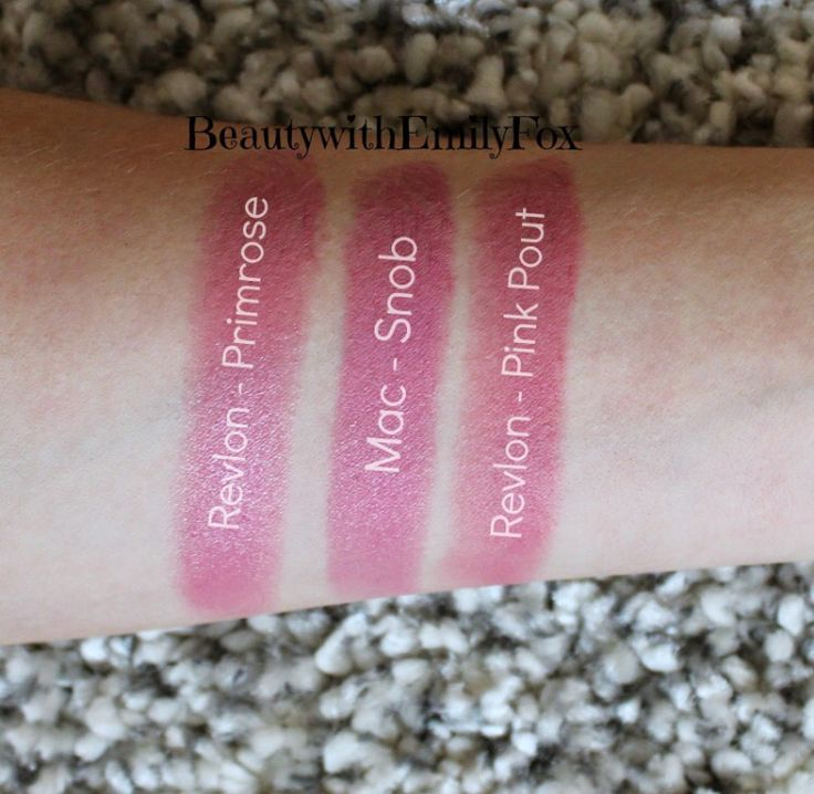 Mac snob dupe: some say revlon primrose, some say revlon pink pout. I will decide for myself once I get my hands on both revlons