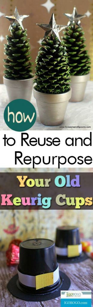 How to Reuse and Repurpose Your Old Keurig Cups| Keurig Cup Crafts, Keurig Cup DIYs, Repurpose Projects, Recycled Crafts, Craft, Crafting, Easy Crafts. #KeurigCupCrafts #RepurposeCrafts #RecycledCrafts #EasyCrafts